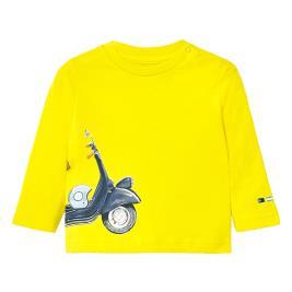 Βρεφική Μπλούζα Mayoral 20-01054-075 Κίτρινο Αγόρι