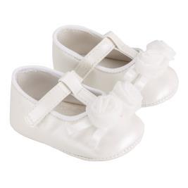 Βρεφικό Παπούτσι Mayoral 20-09285-040 Λευκό Κορίτσι