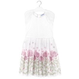 Παιδικό Φόρεμα Mayoral 20-06969-014 Εκρού Κορίτσι