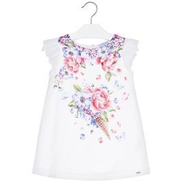Παιδικό Φόρεμα Mayoral 20-03912-068 Εκρού Κορίτσι
