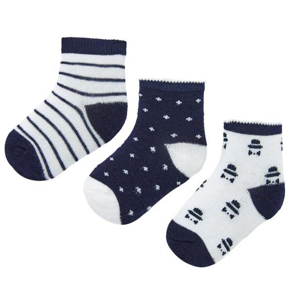 Βρεφικές Κάλτσες Σετ Mayoral 20-09243-032 Μπλε Αγόρι