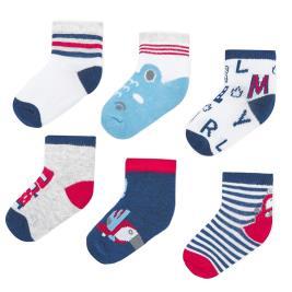 Βρεφικές Κάλτσες Σετ Mayoral 20-09244-039 Κόκκινο Αγόρι