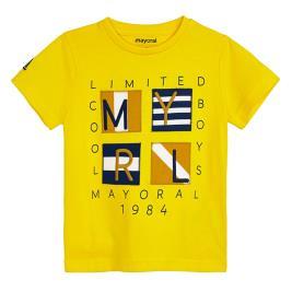 Παιδική Μπλούζα Mayoral 20-03056-046 Κίτρινο Αγόρι