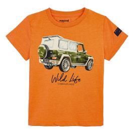 Παιδική Μπλούζα Mayoral 20-03071-060 Πορτοκαλί Αγόρι