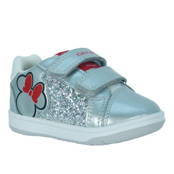 Παιδικό Sneaker Geox B021HA 0NFEW C1010.B Ασημί