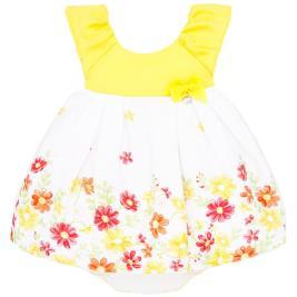 Βρεφικό Φόρεμα Mayoral 20-01880-035 Κίτρινο Κορίτσι