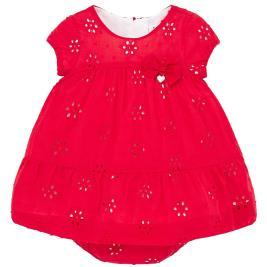 Βρεφικό Φόρεμα Mayoral 20-01884-069 Κόκκινο Κορίτσι
