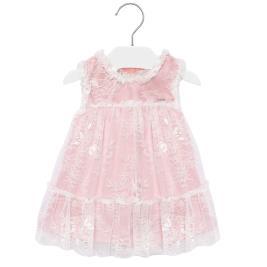 Βρεφικό Φόρεμα Mayoral 20-01905-071 Ροζ Κορίτσι