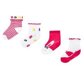 Βρεφικές Κάλτσες Σετ Mayoral 20-09245-075 Κόκκινο Κορίτσι