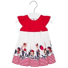 Βρεφικό Φόρεμα Mayoral 20-01914-052 Κόκκινο Κορίτσι