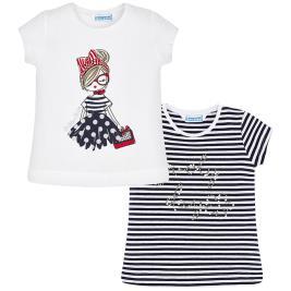 Παιδικό Σετ Μπλούζες Mayoral 20-03004-010 Μπλε Κορίτσι