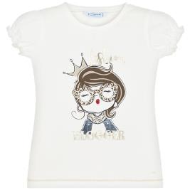 Παιδική Μπλούζα Mayoral 20-03008-046 Εκρού Κορίτσι