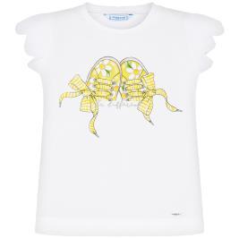 Παιδική Μπλούζα Mayoral 20-03015-052 Λευκό Κορίτσι