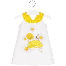 Παιδικό Φόρεμα Mayoral 20-03960-061 Κίτρινο Κορίτσι