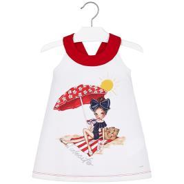 Παιδικό Φόρεμα Mayoral 20-03960-060 Κόκκινο Κορίτσι