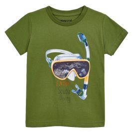 Παιδική Μπλούζα Mayoral 20-03070-067 Χακί Αγόρι