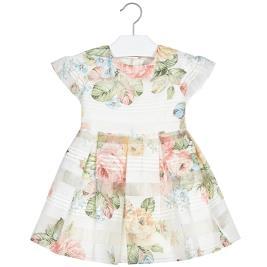Παιδικό Φόρεμα Mayoral 20-03930-071 Ροδακινί Κορίτσι