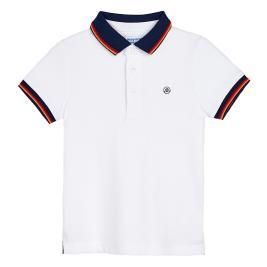 Παιδική Μπλούζα Mayoral 20-03150-018 Λευκό Αγόρι