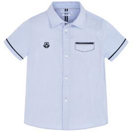 Παιδικό Πουκάμισο Mayoral 20-03163-019 Γαλάζιο Αγόρι