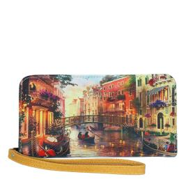 Γυναικείο Πορτοφόλι Verde 18-0001019 Κάμελ Multi