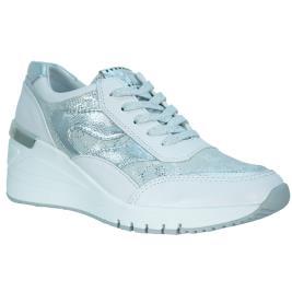 Γυναικείο Sneaker Marco Tozzi 2-2-23743-34-197 Λευκό Ασημί