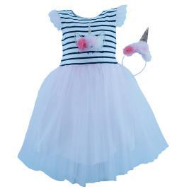Παιδικό Φόρεμα Εβίτα 202260 Ριγέ Κορίτσι