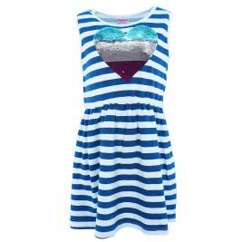 Παιδικό Φόρεμα New College 20-752 Ριγέ Κορίτσι