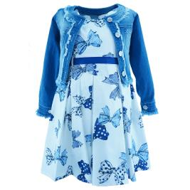 Παιδικό Φόρεμα Εβίτα 202210 Εμπριμέ