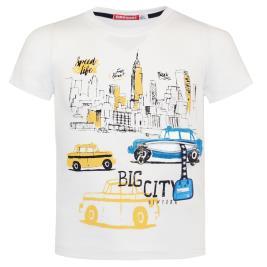 Παιδική Μπλούζα Energiers 12-220139-5 Εκρού Αγόρι
