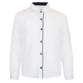 Παιδικό Πουκάμισο Boutique 43-220074-4 Λευκό Αγόρι