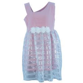 Παιδικό Φόρεμα New College 20-764 Σομόν Κορίτσι