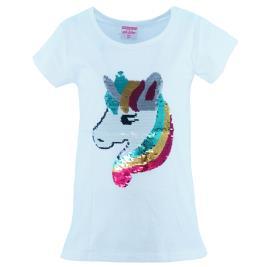 Παιδική Μπλούζα NCollege 20-990 Λευκό Κορίτσι