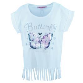 Παιδική Μπλούζα New College 20-9053 Λευκό Κορίτσι