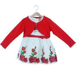 Παιδικό Φόρεμα Trax 37203 Λευκό Κορίτσι