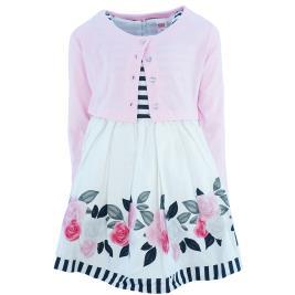 Παιδικό Φόρεμα Trax 37101 Ριγέ Ροζ Κορίτσι