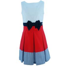Παιδικό Φόρεμα MB 10112 Κόκκινο Κορίτσι