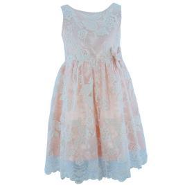 Παιδικό Φόρεμα MB 10000 Σομόν Κορίτσι