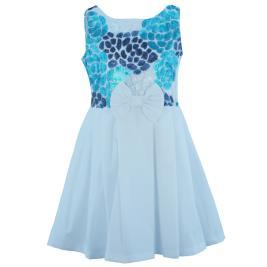 Παιδικό Φόρεμα MB 10104 Λευκό Κορίτσι