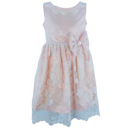 Παιδικό Φόρεμα MB 10100 Σομόν Κορίτσι