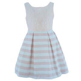 Παιδικό Φόρεμα MB 10116 Σομόν Κορίτσι