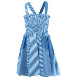 Παιδικό Φόρεμα MB 10129 Μπλε Κορίτσι
