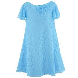 Παιδικό Φόρεμα MB 10109 Θαλασσί Κορίτσι