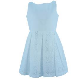 Παιδικό Φόρεμα MB 10119 Λευκό Κορίτσι