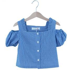 Παιδική Μπλούζα MB 10161 Μπλε Κορίτσι