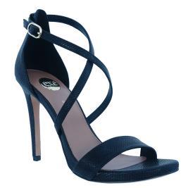 Γυναικείο Πέδιλο Exe Silvia-923 Μαύρο Φίδι