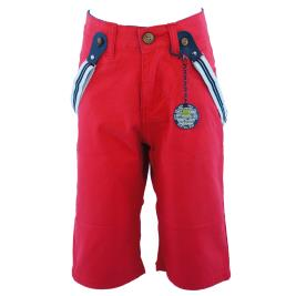 Παιδική Βερμούδα New College 20-4001 Κόκκινο Αγόρι