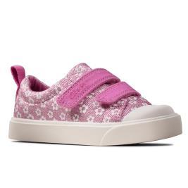 Παιδικό Casual Clarks City Bright T Ροζ Κορίτσι
