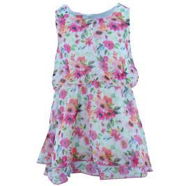 Παιδικό Φόρεμα Joyce 201180 Φλοράλ Λευκό Κορίτσι