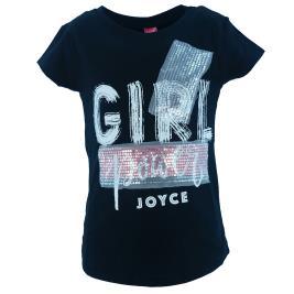 Παιδική Μπλούζα Joyce 201383 Μαύρο Κορίτσι