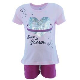 Παιδική Πυτζάμα Dreams 201909 Ροζ Κορίτσι